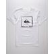 QUIKSILVER Beat The Heat White Boys T-Shirt