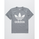 ADIDAS Trefoil Grey Boys T-Shirt