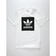 ADIDAS Black & White Blackbird Mens T-Shirt
