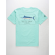 SALTY CREW Blue Rogers Mens T-Shirt