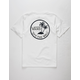 VANS Mini Dual Palm White Boys T-Shirt