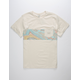 BILLABONG Die Cut Stripe Mens Pocket Tee