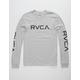 RVCA Big RVCA Sleeves Heather Mens T-Shirt