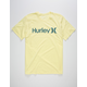 HURLEY One And Only Solid Mens T-Shirt