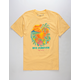 NEFF Bye Forever Yellow Mens T-Shirt