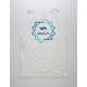 RVCA Blade White Mens Tank Top