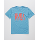 RVCA Big Torn Blue Boys T-Shirt