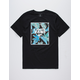 VANS Print Box Black Pit Stop Mens T-Shirt