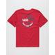 VANS Mini Dual Palm Cardinal Boys T-Shirt