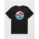 VANS Dual Palm Gradient Black Boys T-Shirt