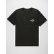 VANS Dual Palm Embroidery Mens T-Shirt