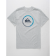QUIKSILVER Active Logo Mens T-Shirt