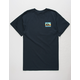 QUIKSILVER Box Spray Mens T-Shirt