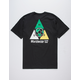 HUF WC Takeover Black Mens T-Shirt