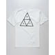 HUF Essentials White Mens T-Shirt