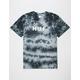 HUF OG Logo Gray & Black Mens T-Shirt