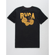 RVCA Panther and Rose Mens T-Shirt