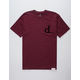 DIAMOND SUPPLY CO. Un Polo Flock Mens T-Shirt
