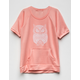 WHITE FAWN Owl Sweatshirt Girls Tee