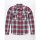 HURLEY Cortez Mens Flannel Shirt