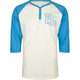 ROCKSMITH League Mens Henley Baseball Tee
