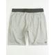 BILLABONG Balance Light Grey Mens Sweat Shorts
