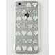LMNT Heart Holographic iPhone Case