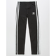 ADIDAS 3 Stripes Black Girls Leggings