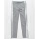 ADIDAS 3 Stripes Grey Girls Leggings