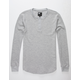 RSQ Mens Henley Thermal