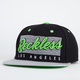 YOUNG & RECKLESS Vintage Mens Snapback Hat