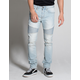 RSQ London Moto Mens Ripped Skinny Jeans