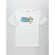 FRESH VIBES Miami Flamingo Mens T-Shirt