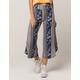 BEBOP Floral Linear Womens Culotte Pants