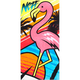 NEFF Flamingo Towel