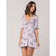 H.I.P. Floral Ruffle Dress