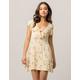 H.I.P. Floral Knot Front Dress