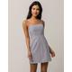 IVY & MAIN Stripe White & Black Tank Dress