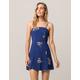 FULL TILT Floral Structured Dress