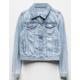 RSQ Ripped Girls Denim Jacket