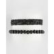 RAVE 2 Pack Beaded Bracelets