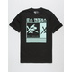 YOUNG & RECKLESS Barred Out Mens T-Shirt