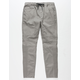 EAST POINTE Dan Mens Twill Moto Jogger Pants