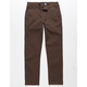 RSQ London Brown Boys Skinny Chino Pants