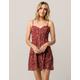 SOCIALITE Boho Floral Ditsy Dress