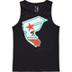 FAMOUS Stars & Straps CA Reppin Mens Tank