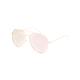 FULL TILT Escape Gold Aviator Sunglasses