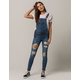 BOOM BOOM JEANS Ripped Womens Overalls