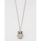 FULL TILT Glitter Owl Necklace