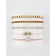 FULL TILT 5 Pack Bow Bracelet Set